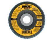 DeWalt DW8330 7 in. X 5/8 in.-11 80 Grit Zirconia T29 Flap Disc