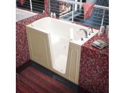 Meditub 3260RBS Meditub 32x60 Right Drain Biscuit Soaking Walk-In Bathtub