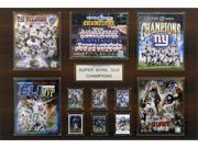 C and I Collectables 2436SB46 NFL New York Giants Super Bowl XLVI Champions 24 x 9SIA62V4SF2214