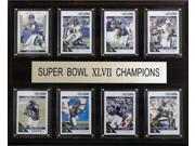 C and I Collectables 1215SB47BR8C NFL Baltimore Ravens Super Bowl XLVII 8 Card C 9SIA62V4SF1958