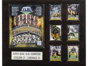 C and I Collectables 1620SB43 NFL Pittsburgh Steelers Super Bowl XLIII Champions 9SIA62V4SF3297