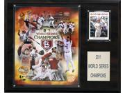 C and I Collectables 1215WS11GD MLB Cardinals 2011 World Series Limited Edition 9SIA62V4SF2553