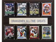C and I Collectables 1215ATGSYR NCAA Football Syracuse Orangemen All Time Greats