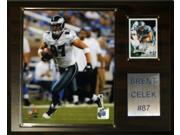 C and I Collectables 1215CELEK NFL Brent Celek Philadelphia Eagles Player Plaque