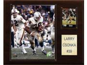 C and I Collectables 1215CSONKA NFL Larry Csonka Miami Dolphins Player Plaque