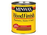Minwax 70045 Wood Finish Interior Wood Stain Gunstock 1 Quart