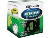 Rustoleum 214945 Glow In The Dark Luminous Latex Paint -  7-oz