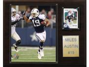 C and I Collectables 1215AUSTIN NFL Miles Austin Dallas Cowboys Player Plaque