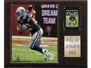 C and I Collectables 1215FELIXJ NFL Felix Jones Dallas Cowboys Player Plaque