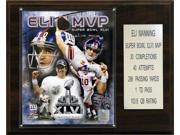 C and I Collectables 1215ELISB46MVP NFL Eli Manning Super Bowl XLVI MVP New York 9SIA62V4SF2034