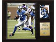C and I Collectables 1215CALVINJ NFL Calvin Johnson Detroit Lions Player Plaque 9SIA62V4SF2155