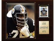 C and I Collectables 1215JOEGREE NFL Joe Greene Pittsburgh Steelers Player Plaqu
