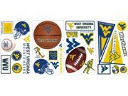 RoomMates RMK1372SCS West Virginia University Peel and Stick Wall Decals