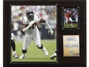 C and I Collectables 1215MARIOW NFL Mario Williams Houston Texans Player Plaque