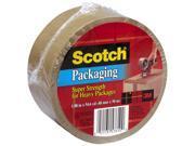 3M 3501T 1.88in X 54.6 Yards Tan Scotch Packing Tape