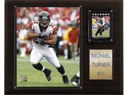 C and I Collectables 1215MTURNER NFL Michael Turner Atlanta Falcons Player Plaqu