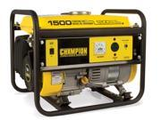 Champion 42436 1200/1500 Watt Portable Gas-Powered Generator CARB