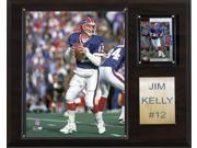 C and I Collectables 1215JKELLY NFL Jim Kelly Buffalo Bills Player Plaque