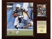 C and I Collectables 1215GATES NFL Antonio Gates San Diego Chargers Player Plaqu 9SIA62V4SF2060
