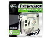 Slime COMP03 Tire Compressor with Gauge Light