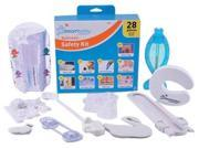 DreamBaby L7021 Bathroom Safety Value Kit 28 pieces