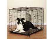 Proselect ZW6046 42 17 Easy Crate with Double Door L Black