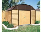 Arrow Shed WH1014 Woodhaven 10x14 Steel Storage Shed