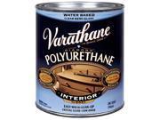 Varathane 200141 1 Quart Semi-Gloss Interior Water-Based Diamond Polyurethane Fi