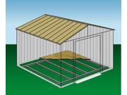 Arrow Shed FB1014 Floor Frame Kit for 10ftx12ft and 10ftx14ft Arrow Sheds 9SIV04Z3UJ5851