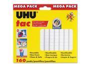 UHU 41555 UHU Tac Adhesive Putty, Removable/Reusable, 4.23 oz, Each