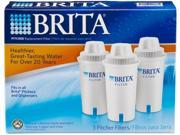 Brita 35503 Pitcher Replacement Filters - 3-Pack 9SIA0AJ0YT8531
