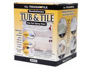 Homax 720773 Brush-On Tub and Tile Epoxy Paint White - 26 oz.