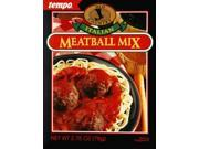 Tempo Meatball Mix 2.75oz Pack of 12