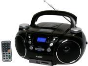 Jensen Portable AM FM Stereo CD Player with MP3 Encoder Player Black CD 750