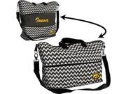 Logo 806293018957 Iowa Hawkeyes Expandable Tote Chevron Team Color