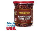 Ranch Rewards RR1235 12 Wavy Bacon Cheese Flavor Strips 12oz