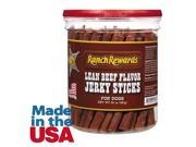 Ranch Rewards RR1233 20 Lean Beef Flavored Jerky Sticks 20oz