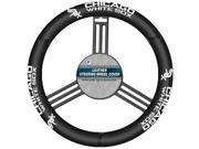 MLB Chicago White Sox Leather Steering Wheel Cover