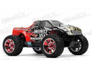 1/10 2.4Ghz Exceed RC Infinitve Nitro Gas Powered RTR Off Road Monster 4WD Truck Sava Red