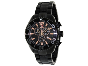 Swiss Precimax Men's Deep Blue Pro II SP12171 Black Stainless-Steel Swiss Chronograph Watch with Black Dial