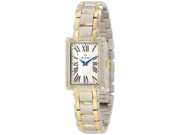 Bulova 98R157 Diamond White Mother of Pearl Dial Two-tone Steel Ladies Watch