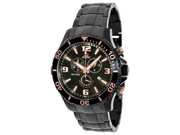 Swiss Precimax SP13229 Tarsis Pro Men's Black Dial Stainless Steel Chronograph Watch