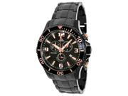 Swiss Precimax SP13229 Tarsis Pro Men's Black Dial Stainless Steel Chronograph Watch