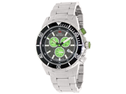Swiss Precimax Men's Pursuit Pro SP13290 Silver Stainless-Steel Swiss Chronograph Watch with Grey Dial