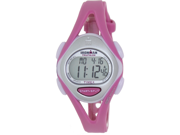 Timex Women's Ironman T5K702 Pink Plastic Quartz Watch with Digital Dial