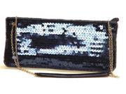 LA Regale Clutch Evening Sequence Purse