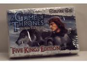 A Game of Thrones Collectible Card Game Five Kings Edition Starter Set
