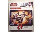 Star Wars The Clone Wars 3 Foot Floor Puzzle
