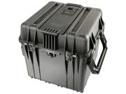 "PELICAN 0340-000-110 Black 0340 18"" Cube Case with Foam"