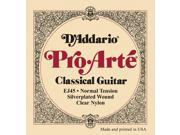 1set D Addario EJ45 Pro Arte Classical Guitar Strings Normal Clear Nylon